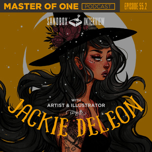 Episode 55.2: Sandbox Interview - Artist & Illustrator Jackie Deleon
