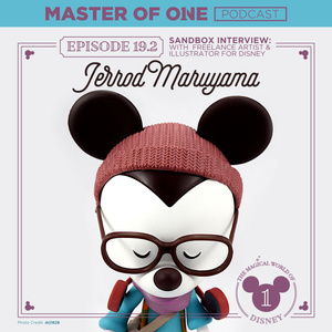 Episode 19.2: Sandbox Interview – with Freelance Artist & Illustrator for Disney™ Jerrod Maruyama