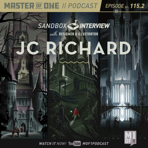 Episode 115.2: Sandbox Interview with Designer & Illustrator JC Richard