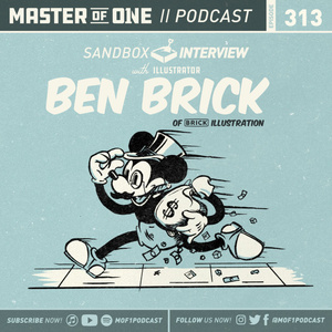 Episode 313: Interview with Illustrator Ben Brick