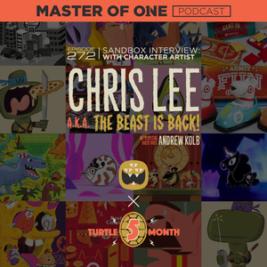 Episode 27.2: Sandbox Interview - with Illustrator Chris Lee (aka The Beast Is Back)!