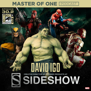Episode 30.2: Sandbox Interview - with Sideshow Collectibles Creative Director David Igo