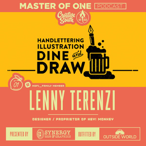 Creative South Live Episode 1: Lenny Terenzi