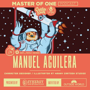 Creative South Live Episode 4: Manuel Aguilera