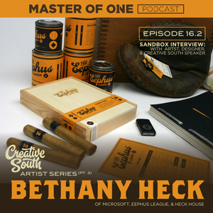 Episode 16.2: Sandbox Interview - with Artist , Designer & Creative South Speaker Bethany Heck