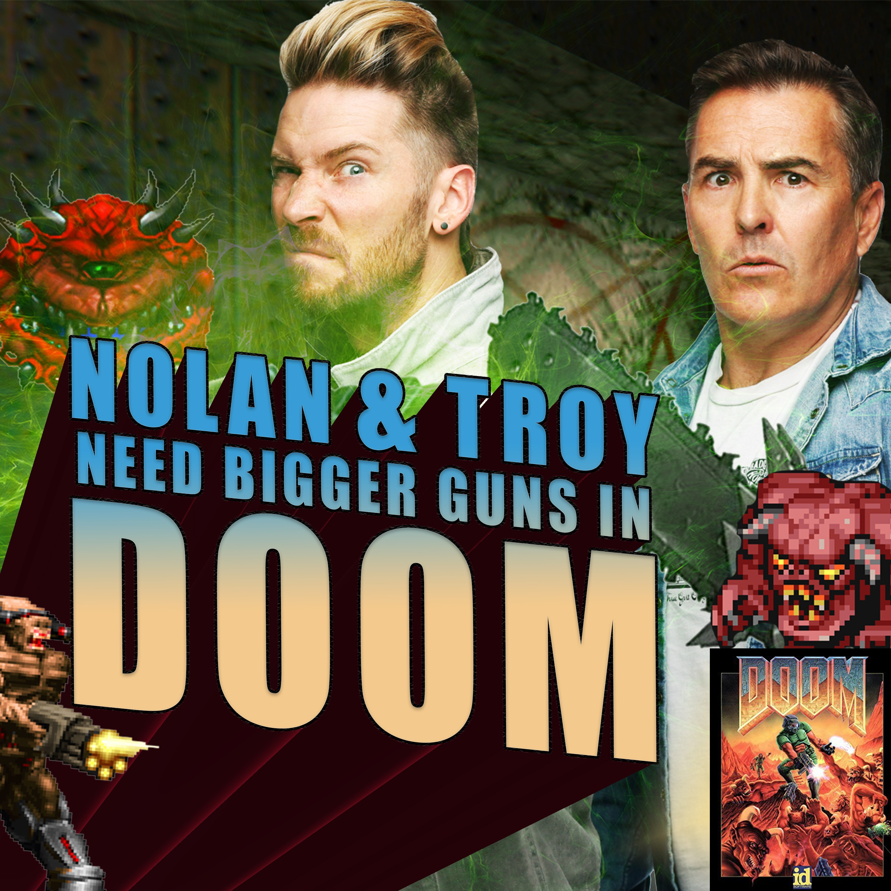Nolan North and Troy Baker Play Doom