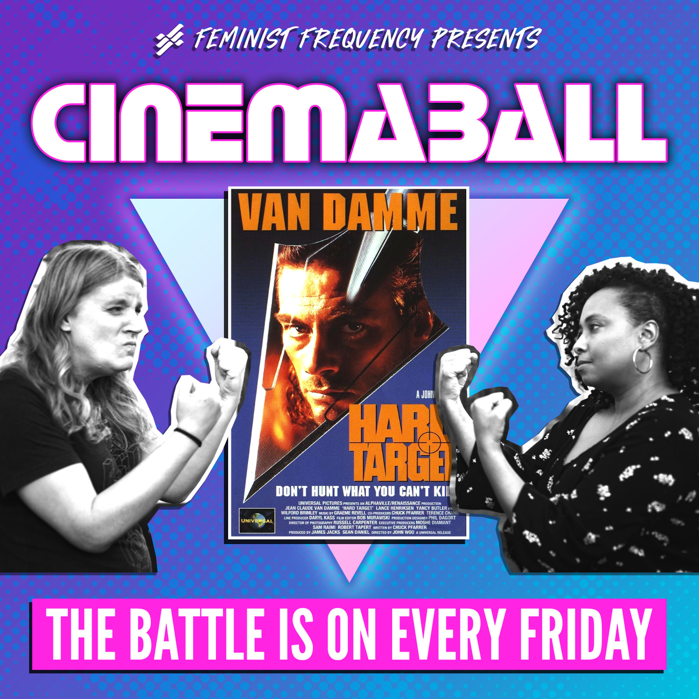 CinemaBall 08: Hard Target (1993)