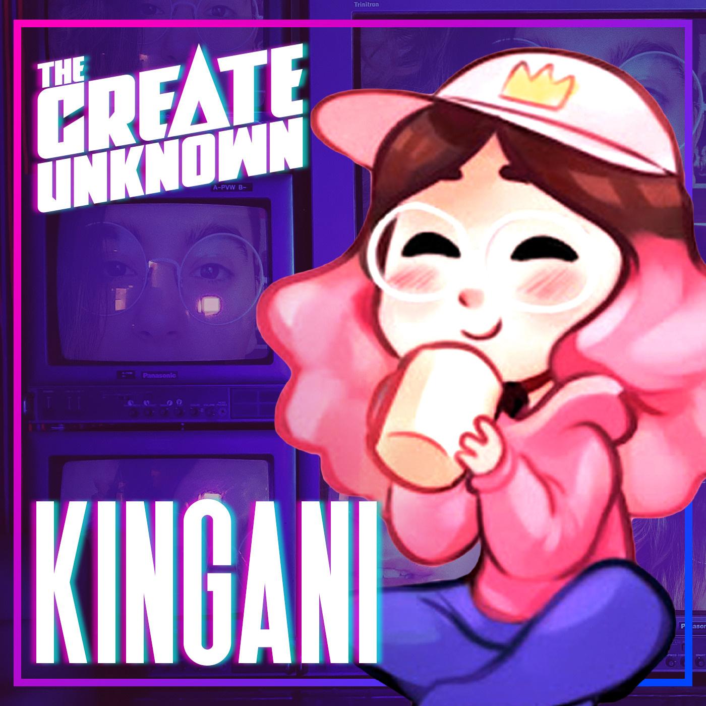Kingani enters The Create Unknown