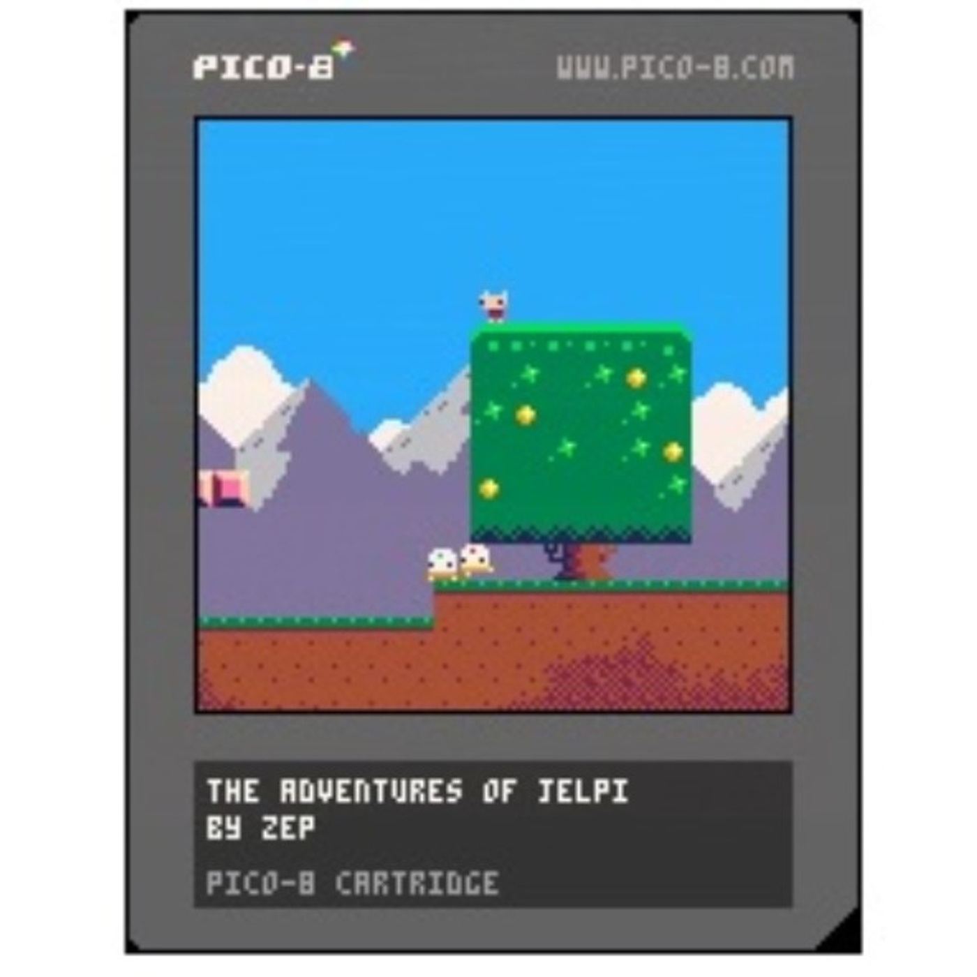 Tiny games with the PICO-8 Fantasy Console and Joseph White