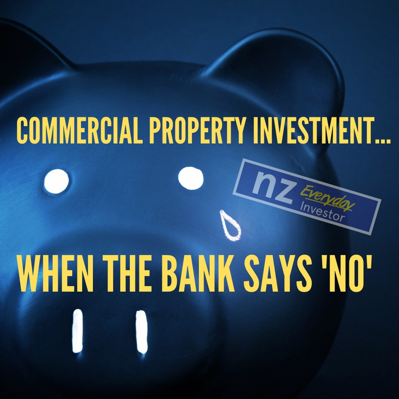 Commercial Property Investment when the bank says 'NO'
